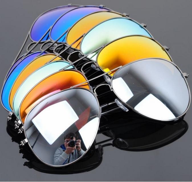 9f1f4b43a Slnečné okuliare AVIATOR (farebné) - Slnečné okuliare | LUDOVKA.eu