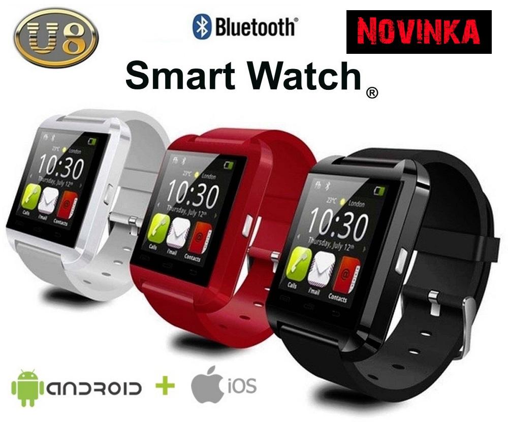 Smart Watch U8 - inteligentné hodinky pre každého  8a82e8ade48