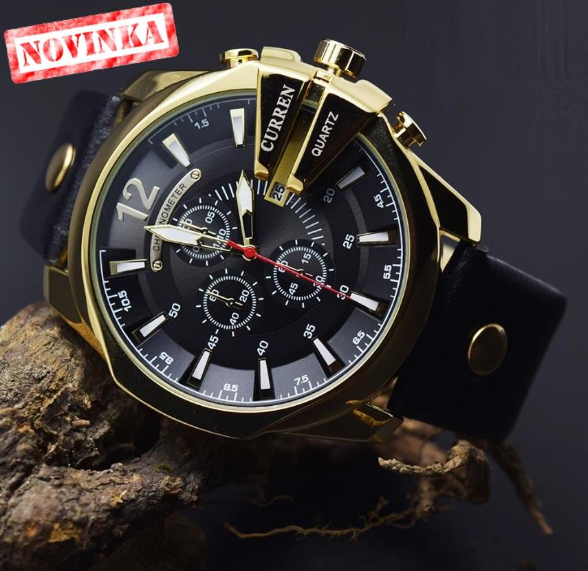 06daf4740 Pánske značkové hodinky CURREN Fashion - HODINKY | LUDOVKA.eu