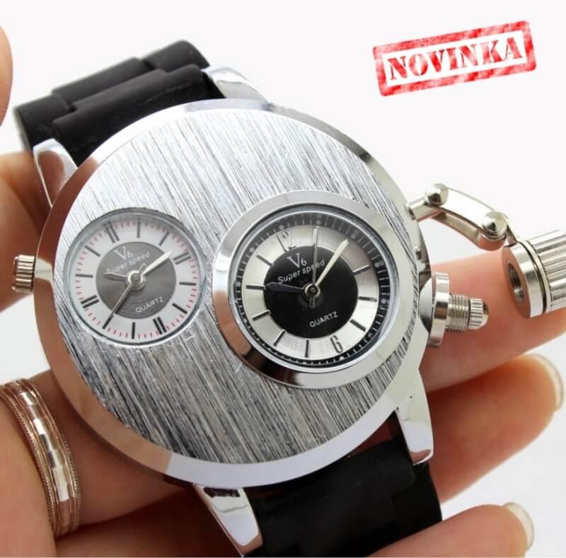 4bd6e7d5074 Pánske značkové hodinky V6 DUO - HODINKY
