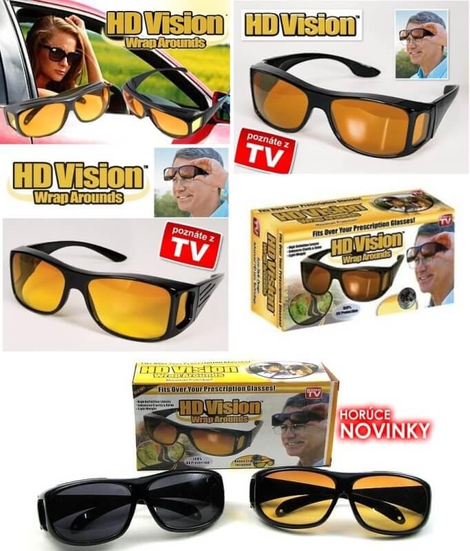 Slnečné okuliare HD VISION 1+1 ZADARMO - Slnečné okuliare  9877ab31c67