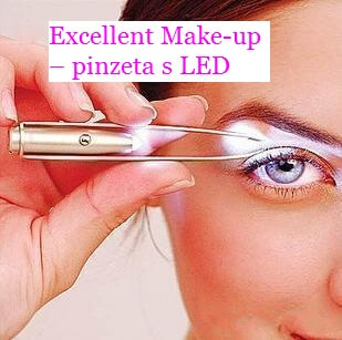 Excellent Make-up - pinzeta s LED